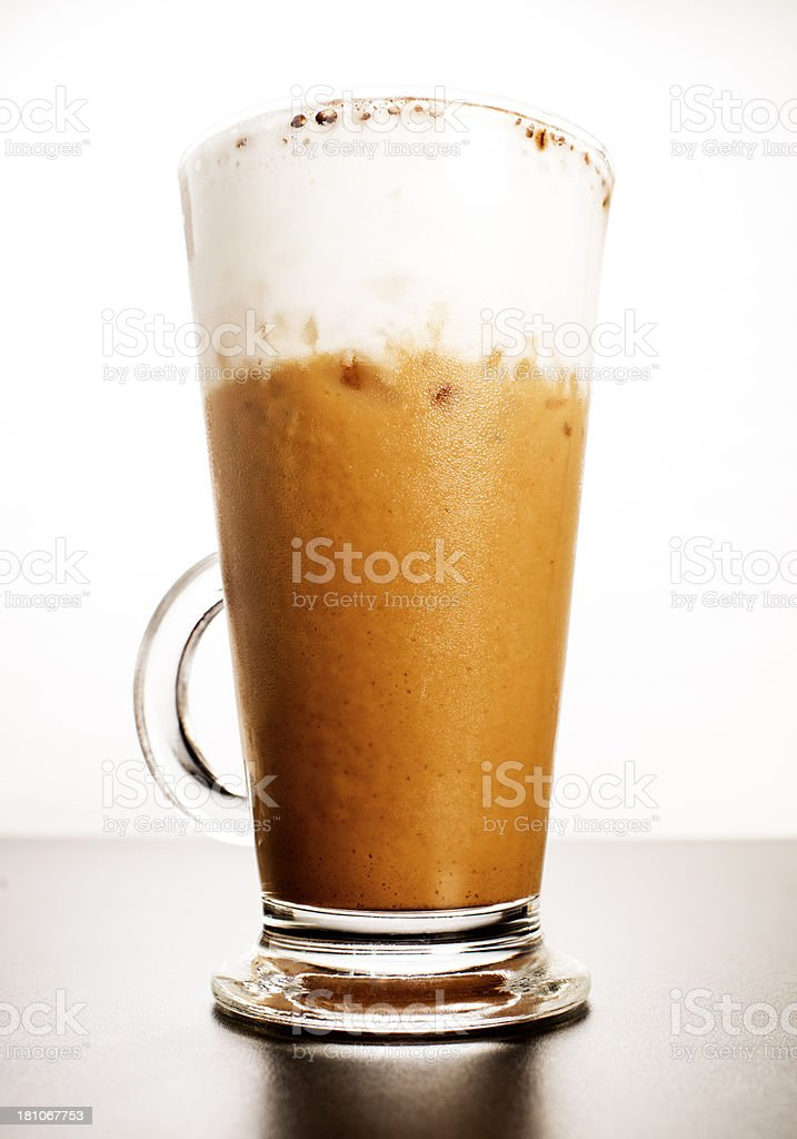 Tall Iced Coffee royalty-free stock photo