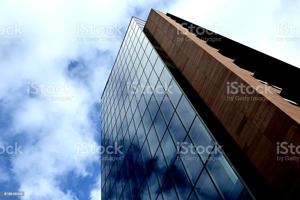 Tall office building stock photo