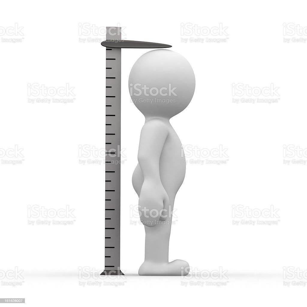tall ruler stock photo