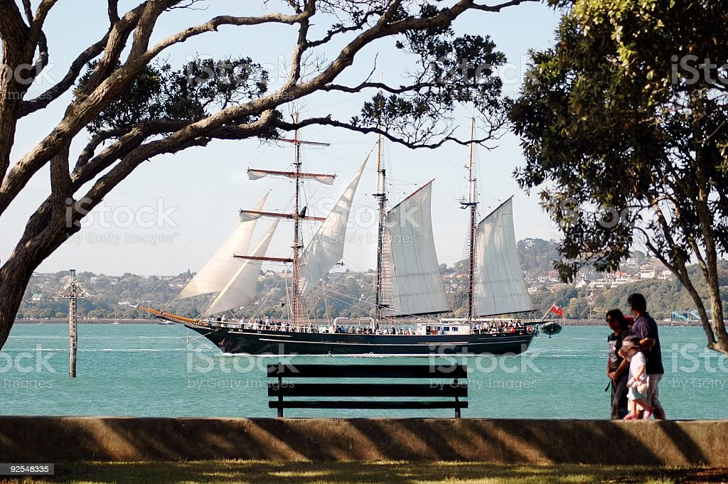 Tall Ship close-by royalty-free stock photo