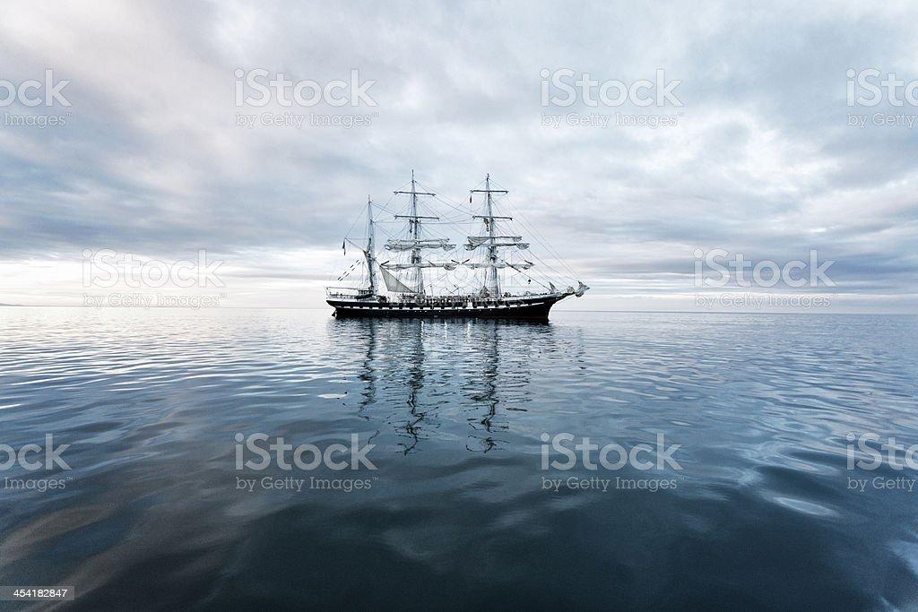 Tall ship stock photo