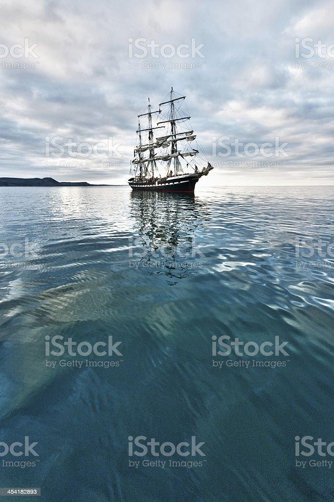 Tall ship royalty-free stock photo