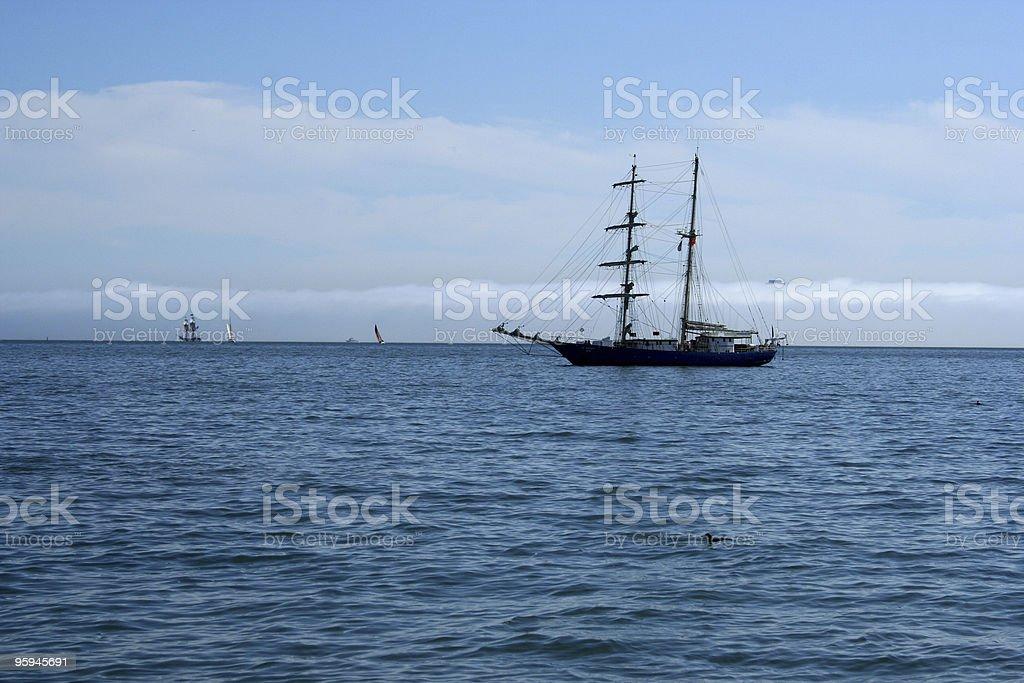 Grand voilier photo libre de droits