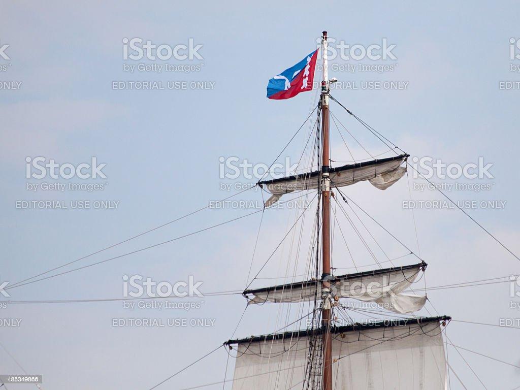 Tall Ship - Sail Amsterdam 2015 stock photo