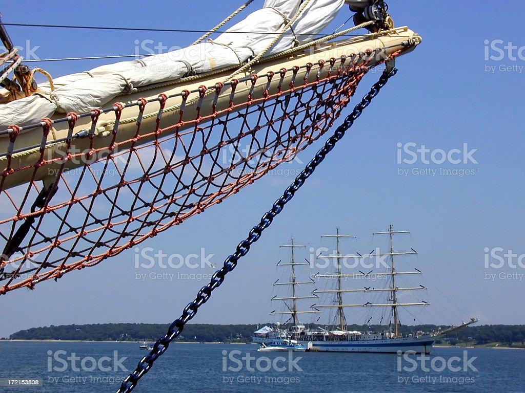 Tall Ships stock photo