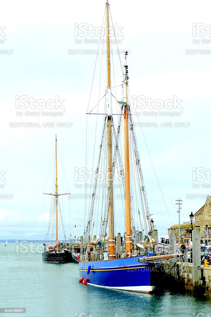 Tall Ships. stock photo
