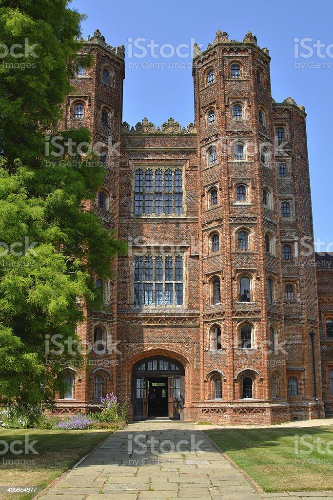 tall tudor tower royalty-free stock photo