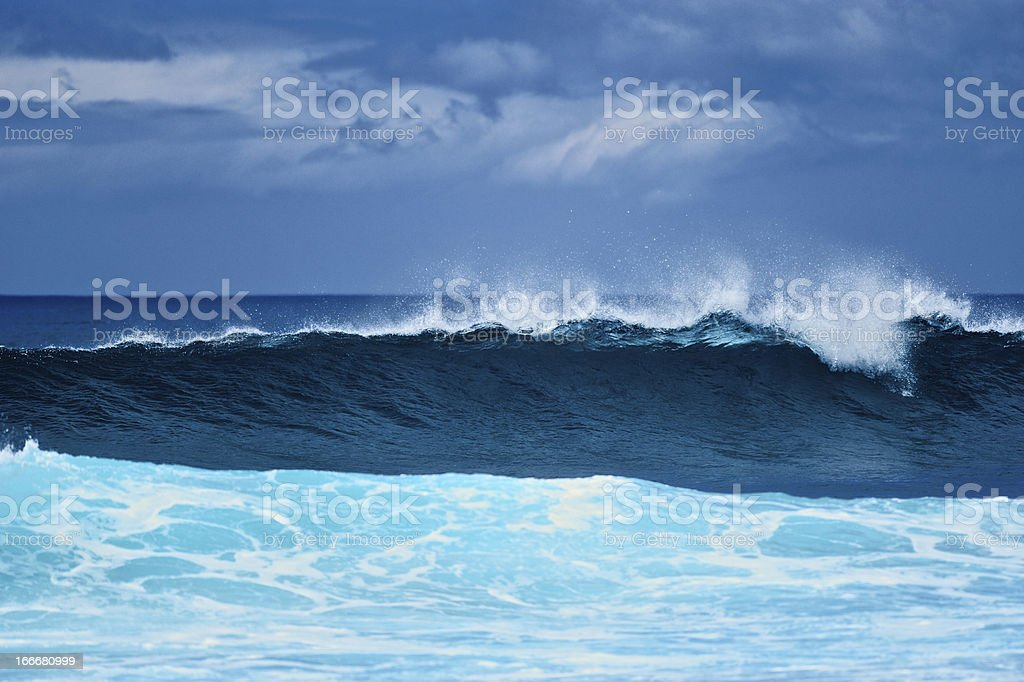Tall Wave royalty-free stock photo