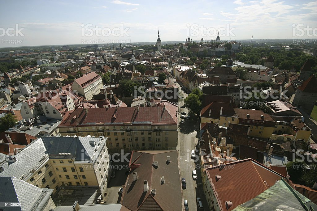 Tallin view royalty-free stock photo