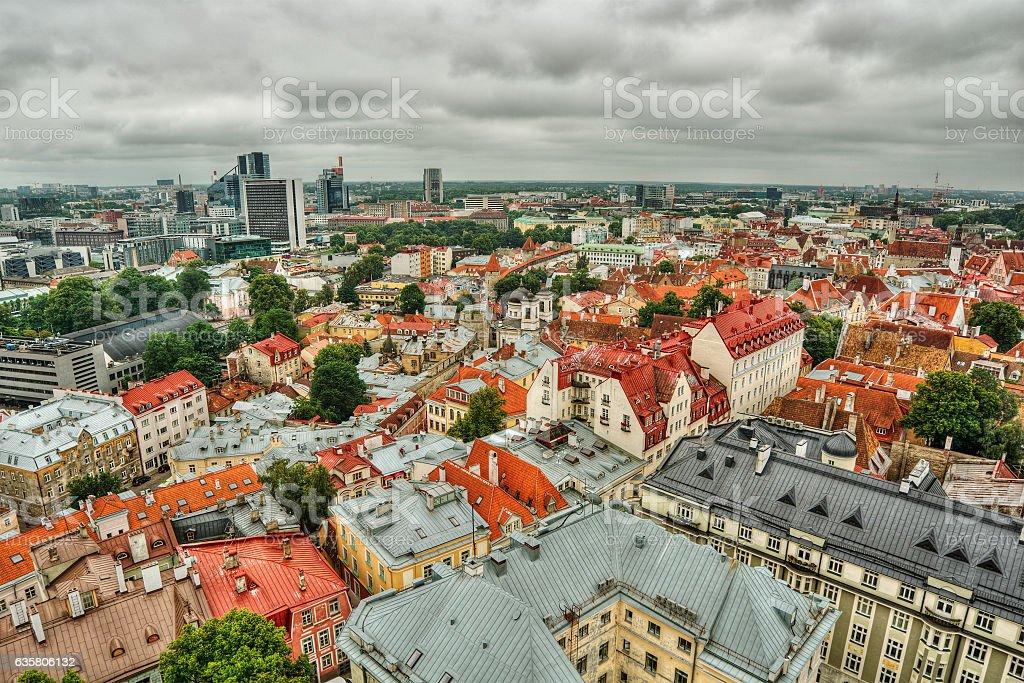 Tallinn HDR stock photo