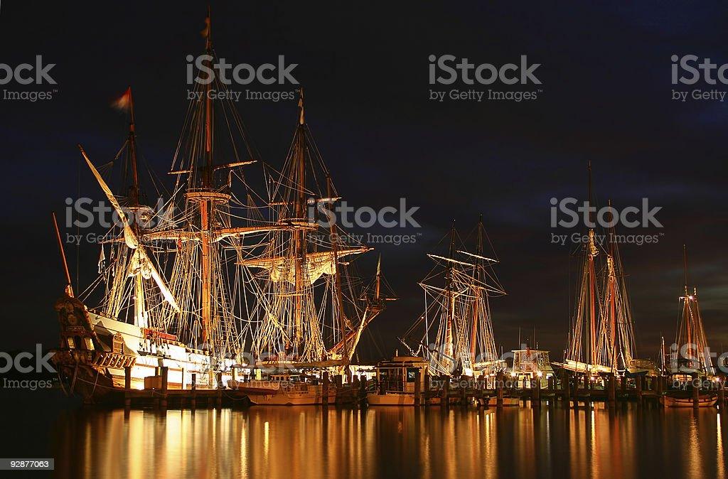 Tallships stock photo