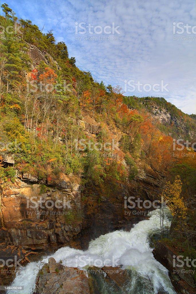 Tallulah Gorge royalty-free stock photo