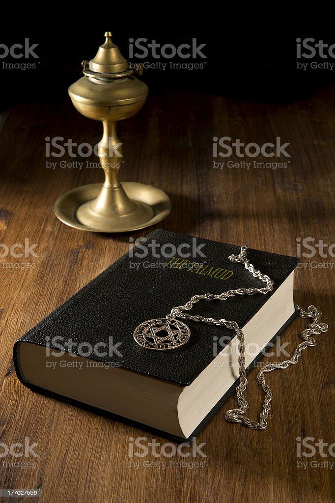 Talmud stock photo