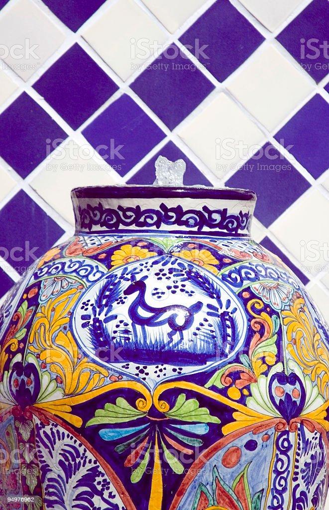 Talovera Fountain Close-up royalty-free stock photo