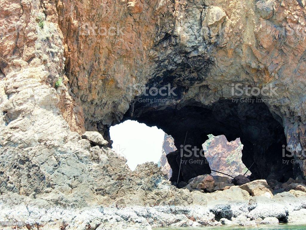 Talu Island stock photo
