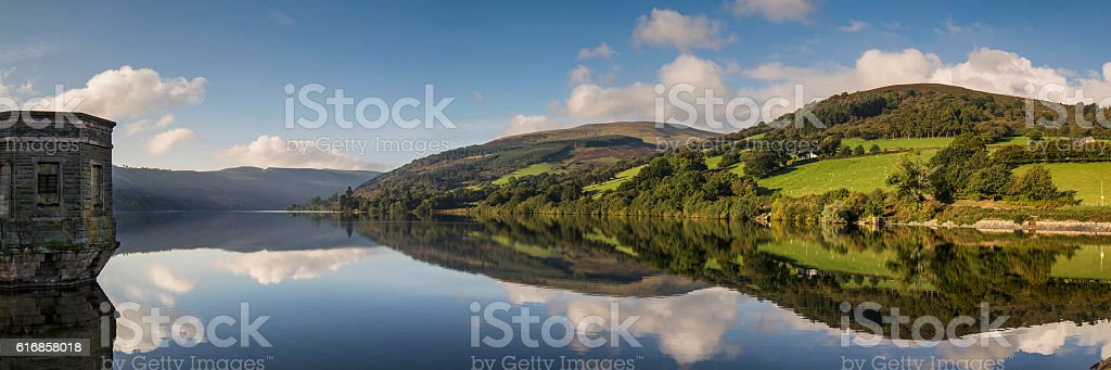 Talybont Reservoir stock photo