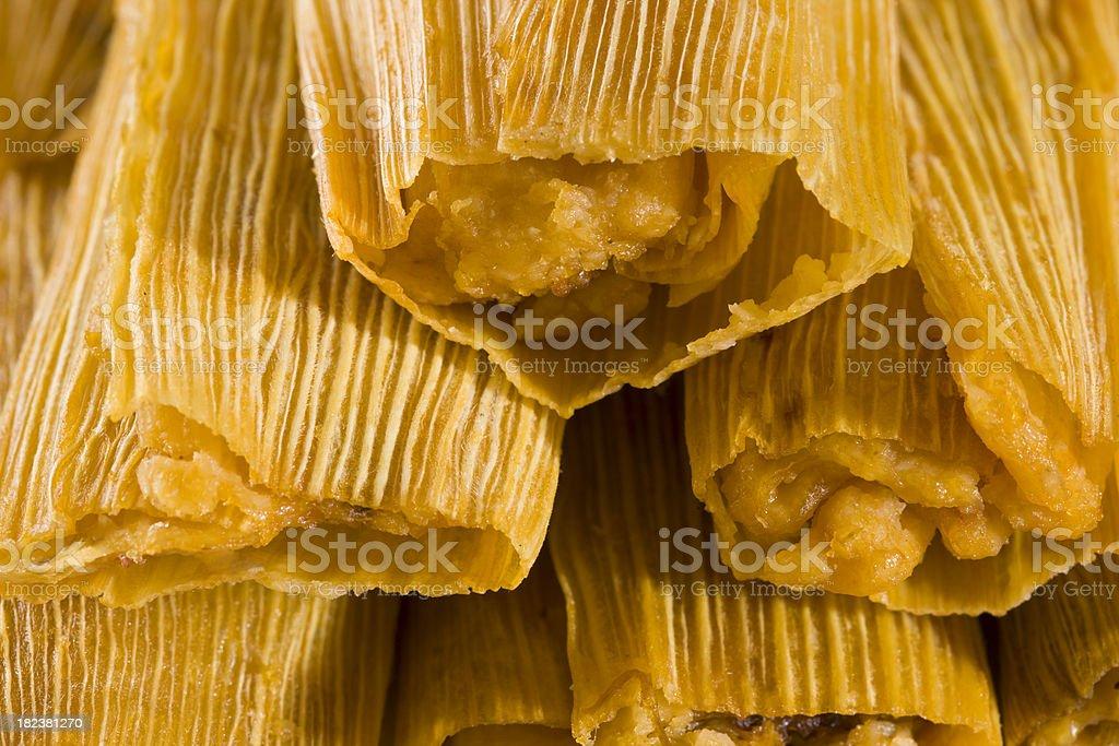 Tamale stock photo