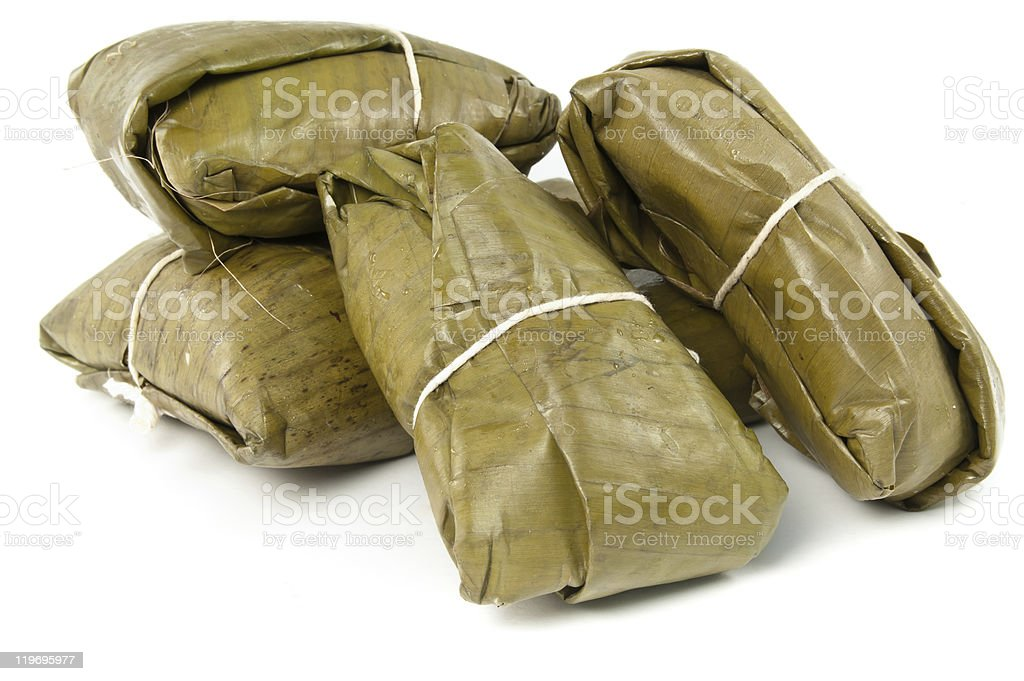 Tamale, traditional food from Latin America stock photo