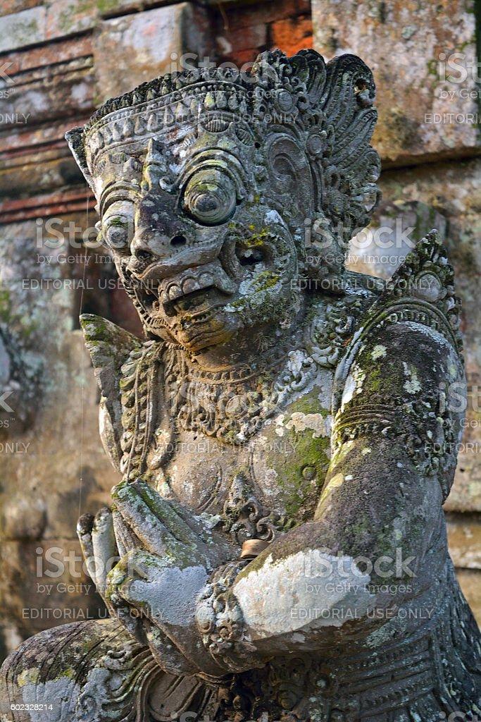 Taman Ajun royal Hindu temple, Mengwi, Bali, Indonesia stock photo