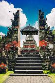 Taman Ayun the Royal Family Temple Gate in Bali, Indonesia