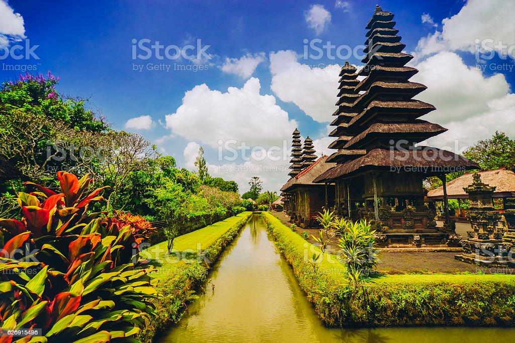 Taman Ayun the Royal Family Temple in Bali, Indonesia stock photo