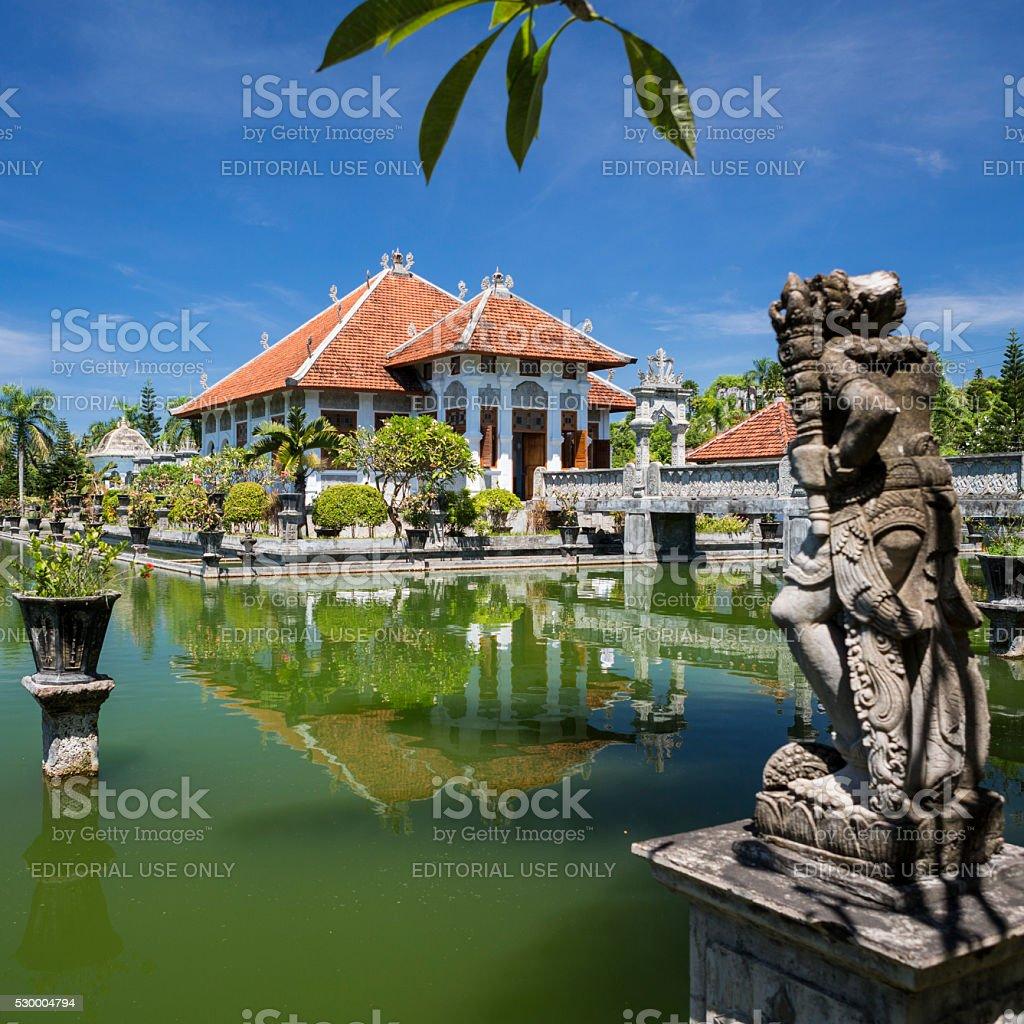 Taman Ujung water palace in Karagansem province of Bali stock photo