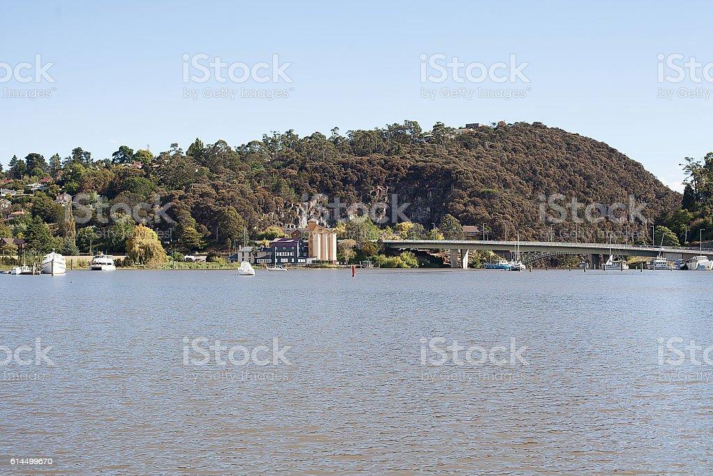 Tamar River Launceston stock photo