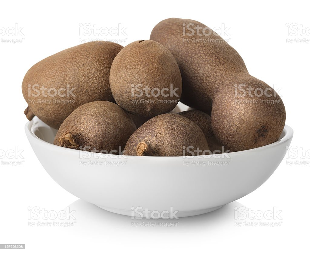 Tamarind in plate royalty-free stock photo