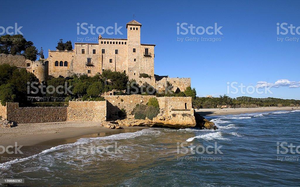 Tamarit castle royalty-free stock photo