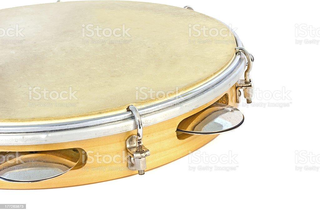Tambourine stock photo