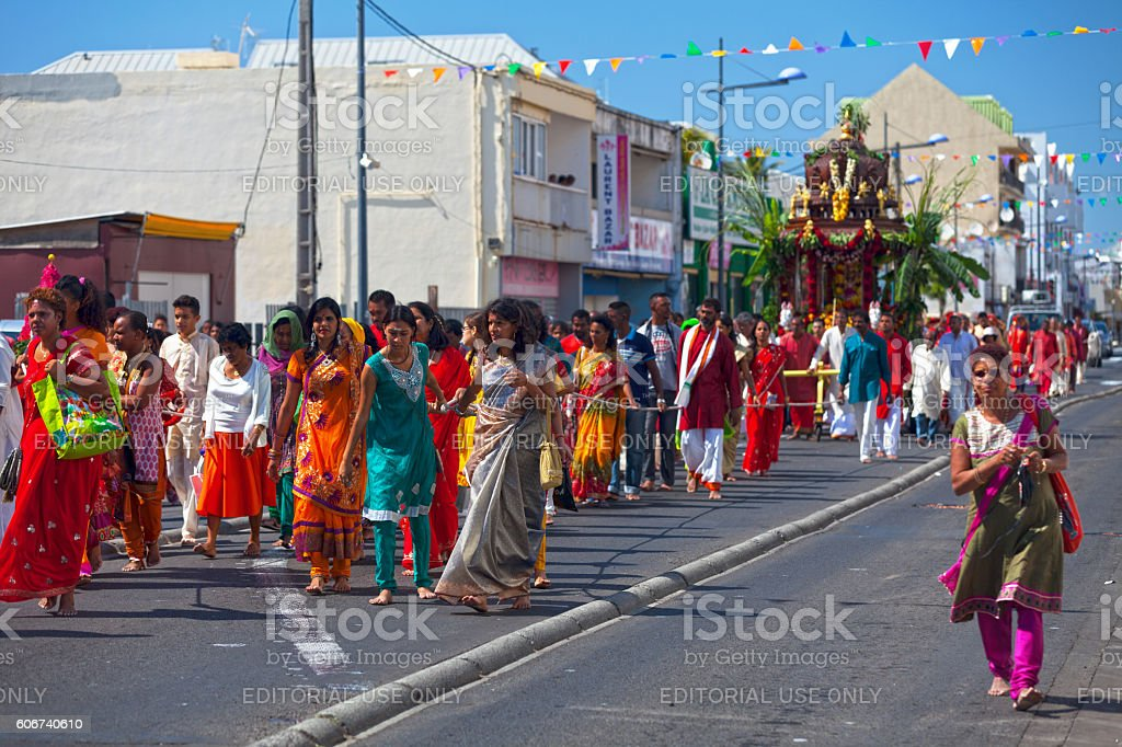 Tamil religious holiday stock photo