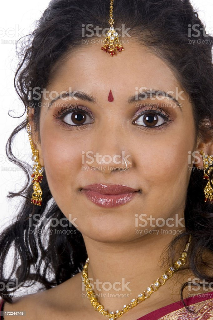 Tamil Smile royalty-free stock photo