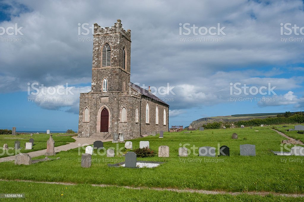 Tamlach Parish Church stock photo