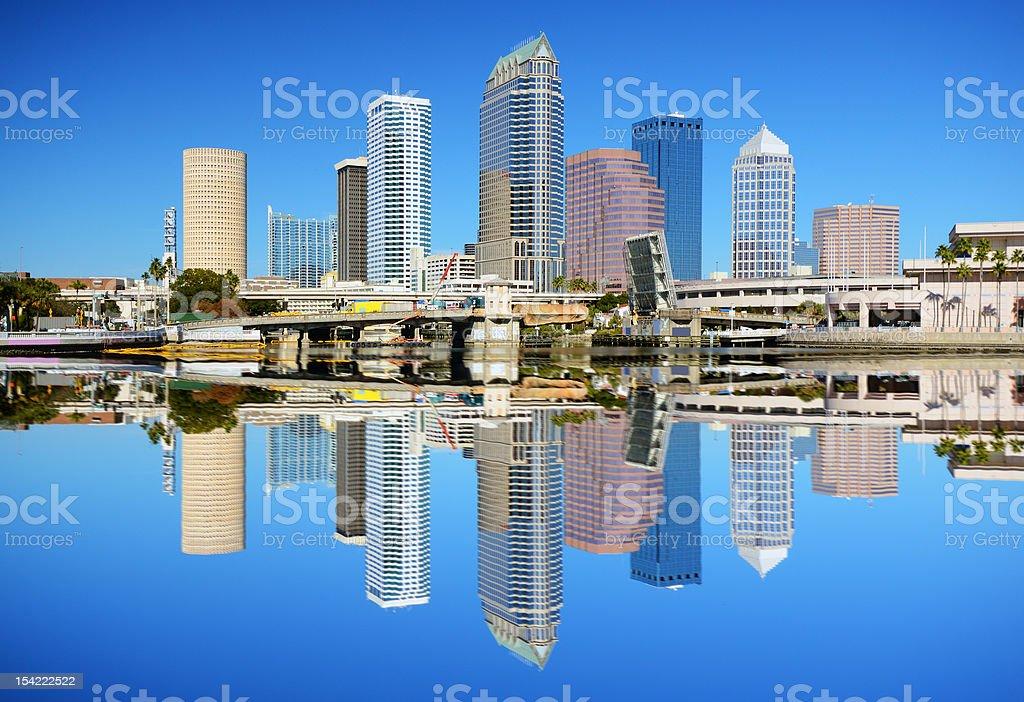 Tampa Bay Skyline stock photo