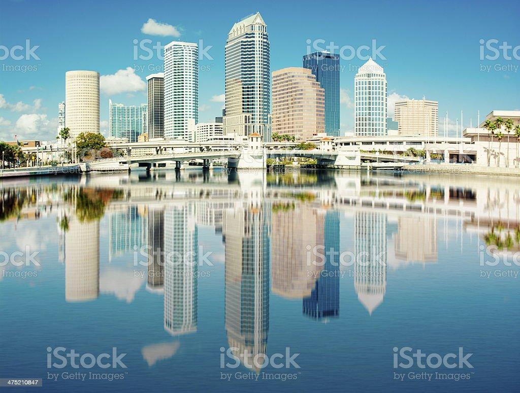 Tampa, FL royalty-free stock photo