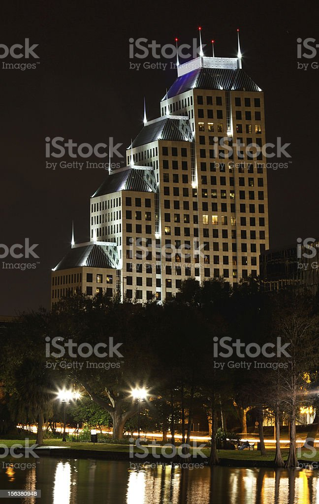 Tampa Florida Cityscape royalty-free stock photo