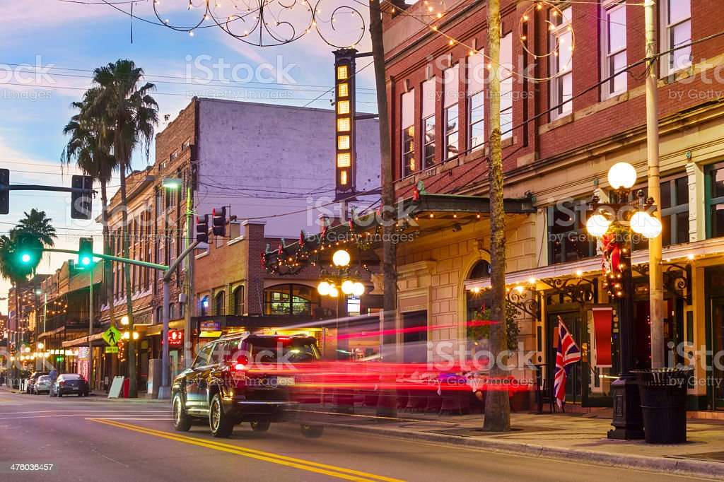 Tampa, Florida, Ybor City stock photo