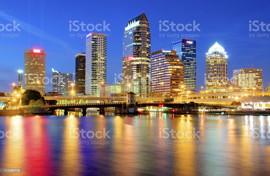 Tampa HDR stock photo