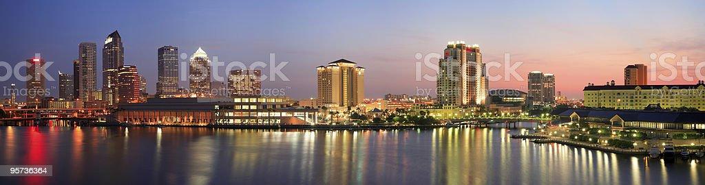 Tampa Panorama stock photo