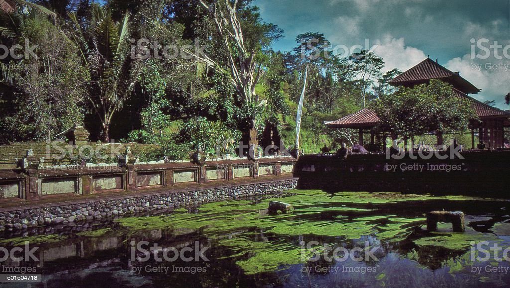 Tampaksiring - Holy Spring Water Temple stock photo