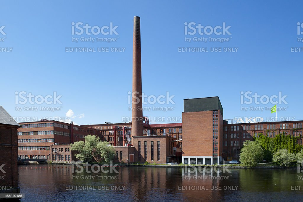 Tampere Finland Factory stock photo