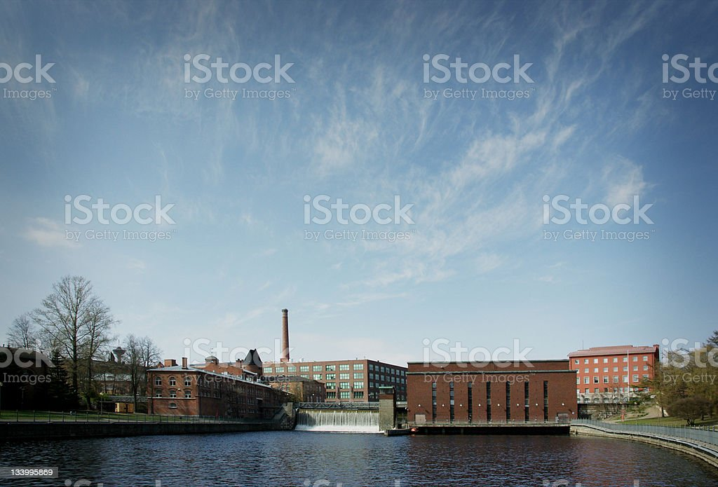 Tampere Finland stock photo
