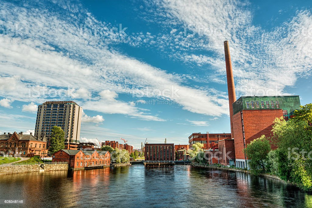 Tampere HDR stock photo
