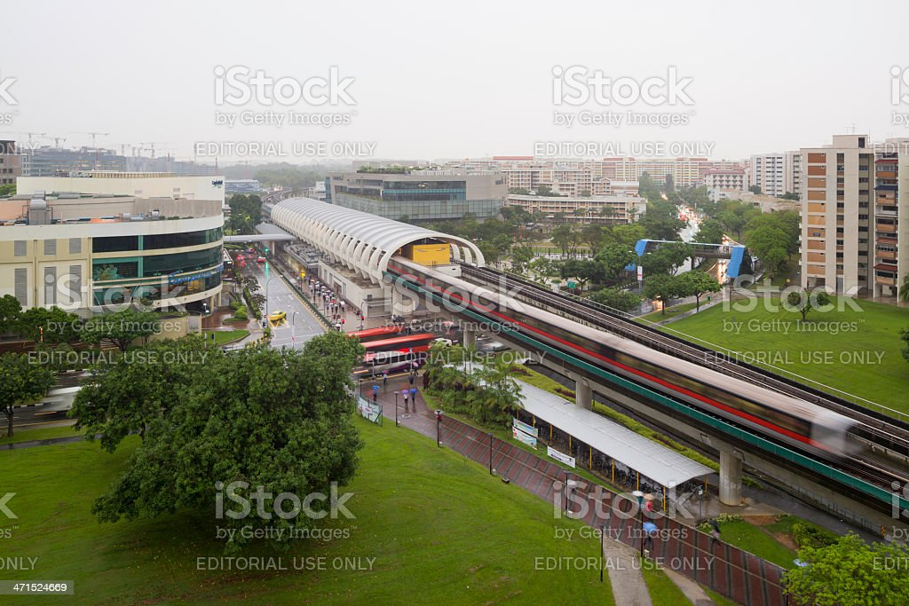 Tampines New Town royalty-free stock photo