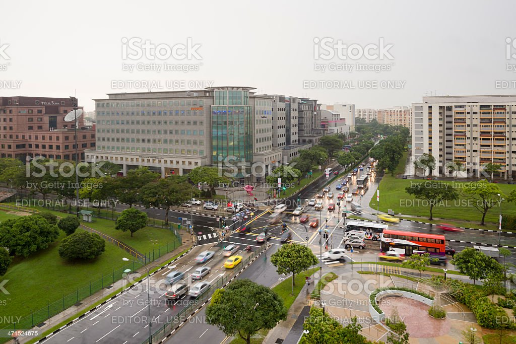 Tampines New Town stock photo