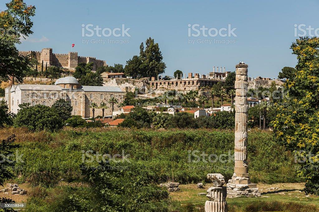 Tample of Artemis stock photo