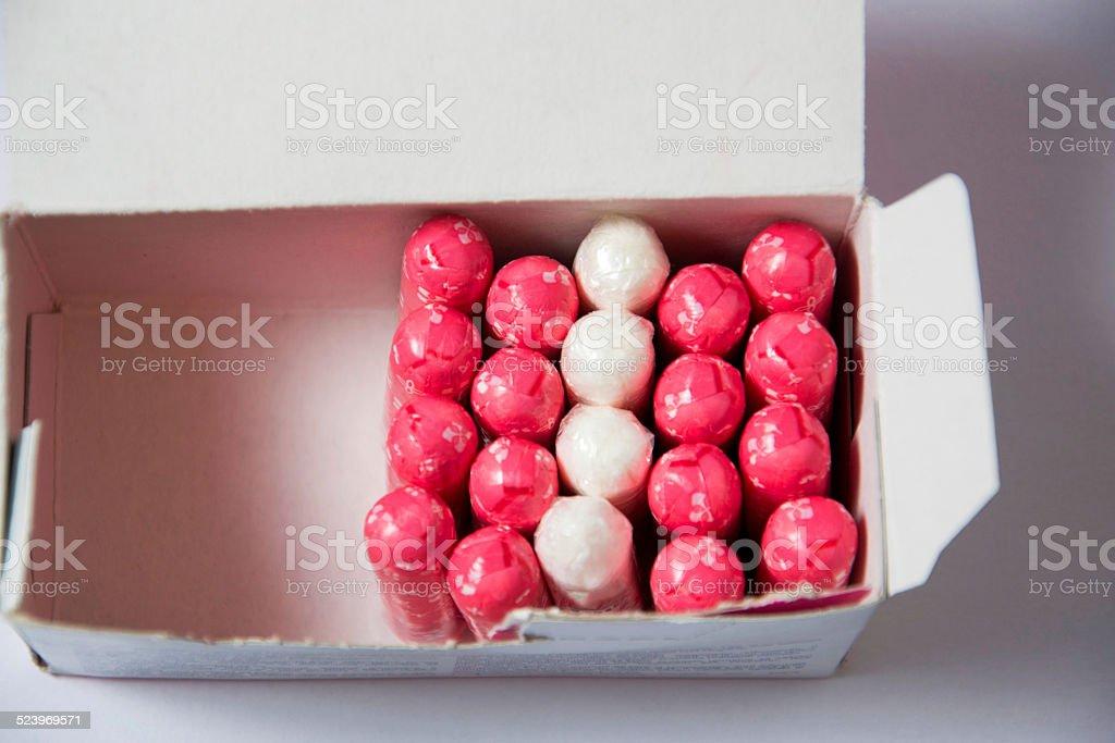 tampons stock photo
