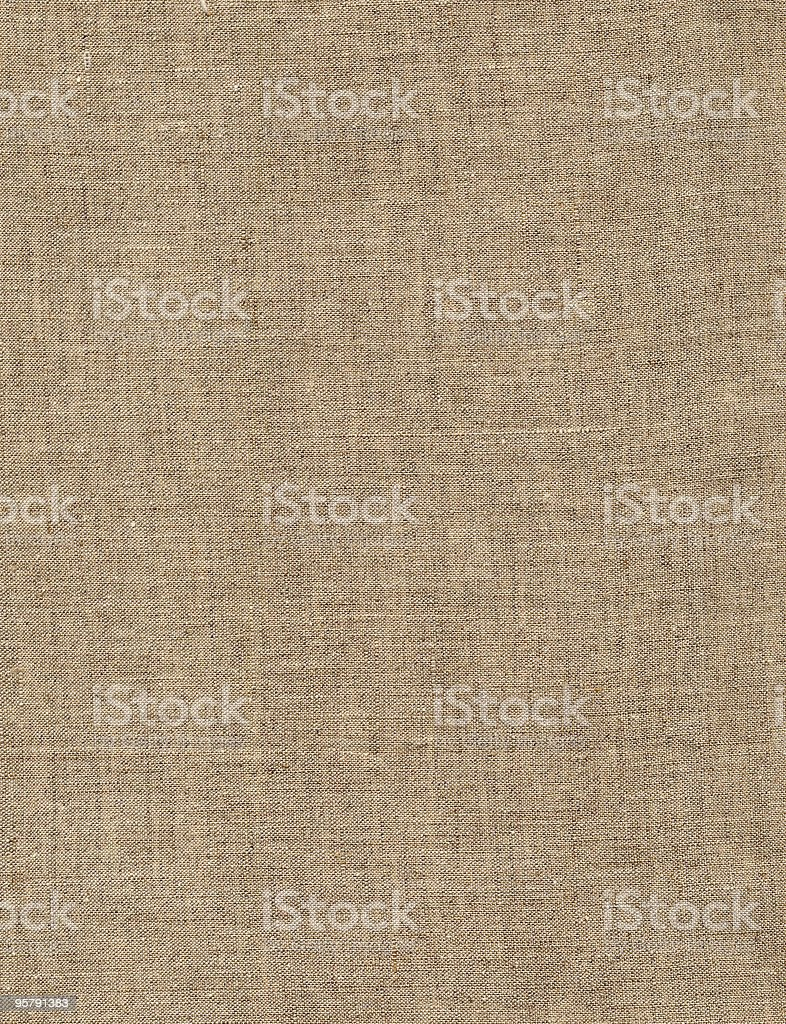 A tan canvas Texture background royalty-free stock photo