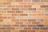 Tan Exterior Brick Wall
