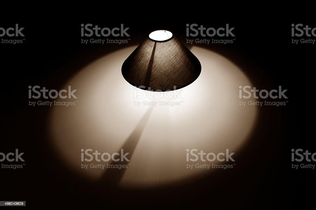 Sable lampe photo libre de droits